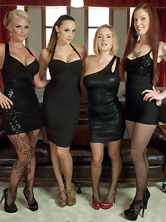 orgy heels skirt